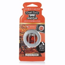 4 new yankee candle smart scent vent clip air freshener autumn in the park - $13.00