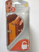 Safety 1st Baby Cabinet Locks Wide Grip Latches 14 Pack. A2 - $7.91