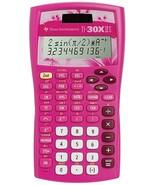 Texas Instruments - TI-30X IIS - Scientific Calculator 2 Line Solar - Pink - $19.75