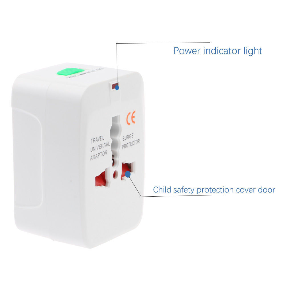 Business Travel Adapter Charger Converter Electrical Plug Socket US UK EU AU