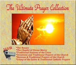 THE ULTIMATE PRAYER COLLECTION - ON A USB  (Universal Serial Bus)