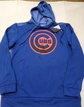 NWT Chicago Cubs MLB Baseball Men's Fanatics Blue Hoodie Sweatshirt Medi... - $24.74