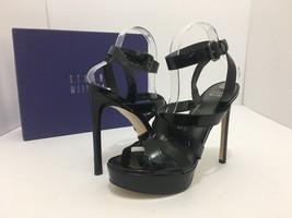 8 Black Women's Soundtrack Heels 5 Sandals Platform Weitzman Size Stuart Patent zwxCpqE