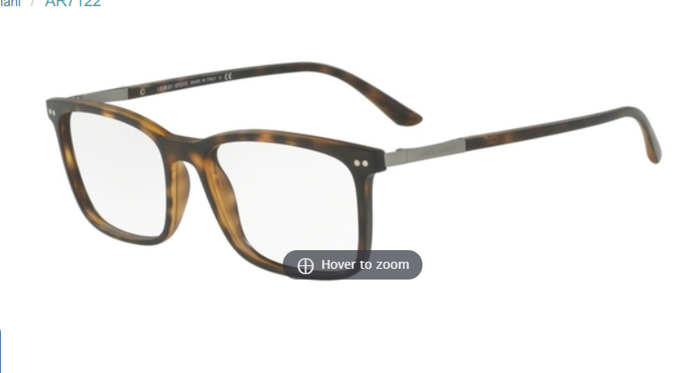 Primary image for Giorgio Armani AR7122 Eyeglasses Frames Brown