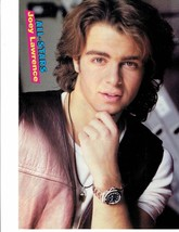 Joey Lawrence teen magazine pinup clippings Tiger Beat Brothery Love Serious