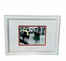 Pretty as Picture Kim Anderson figurine vtg Classico picture frame Seren... - $23.17