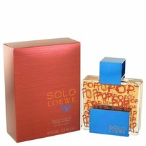 Solo Loewe Pop by Loewe Eau De Toilette Spray 2.5 oz for Men - $57.48