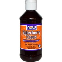 Elderberry Liquid, 8 oz by Now Foods (Pack of 3) - $69.99