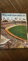 2012 LOS ANGELES DODGERS 50TH ANNIVERSARY DODGER STADIUM OPENING DAY PRO... - $49.99