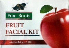 PURE ROOTS™ FRUIT FACIAL KIT WITH FRUIT EXTRACTS AND VIT.E 240 GM FREE S... - $22.86