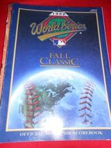 MLB Collectible Scorebook- 1992 WORLD SERIES Fall Classic-Toronto vs. Oa... - $18.40
