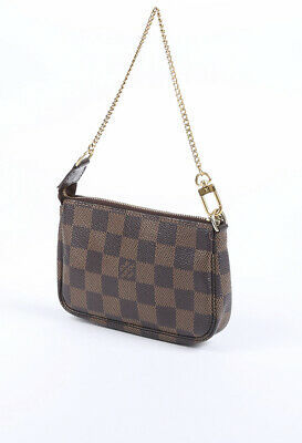 Louis Vuitton Mini Pochette Accessories Damier Ebene Bag image 2