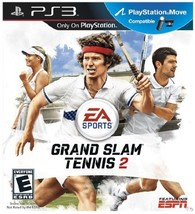 EA Sports Grand Slam Tennis 2 (PS3) [video game] - $16.63
