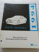 B 1994 Honda New Model Technician Information Guide Service Repair Manua... - $2.82