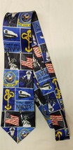 US Navy Seal United States Sailor Neck Tie Blue Liberty Military Patriot... - $6.99