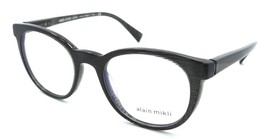 Alain Mikli Rx Eyeglasses Frames A03063 003 49-19-140 Black Dot Made in ... - $105.06