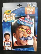 Crayola Interactive Coloring Book Funny Faces Crazy Costumes With App & ... - $9.99