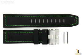Luminox Coronado 3037 23mm Negro Caucho de Nitrilo Correa Reloj con / 2 ... - $72.29