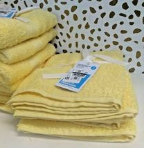 Room Essentials Hand Towel Set 2pk LEMON ICE 100% Cotton,15'' X 25'' NEW-W-TAGS image 5