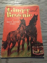 GINGER & BROWNIE Colt Horses ~ 1930's Children's Animated Magic Pop-Up Book - $19.99