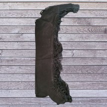 Action Company Equitation Chaps Black Size Medium image 1