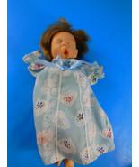 Palm Pals Gi-Go Girl Doll with Blond Hair & sleeping Eyes yawning 8 inch - $7.91