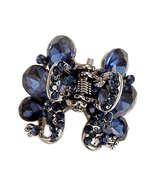 2 Pcs Rhinestones Small Claw Clips Elegant Hair Claw Hair Clips #04 - $14.31