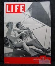 Life Magazine July 14, 1941 Volume 11 No. 2 Sand Sailing - $9.99