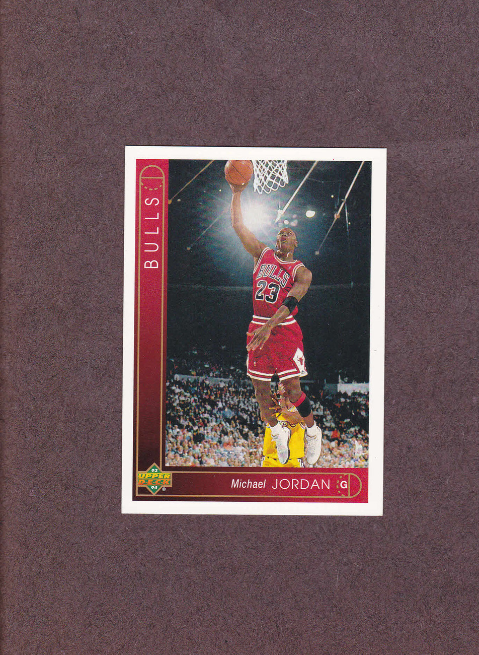 1993-94 Upper Deck # 23 Michael Jordan Chicago Bulls NM