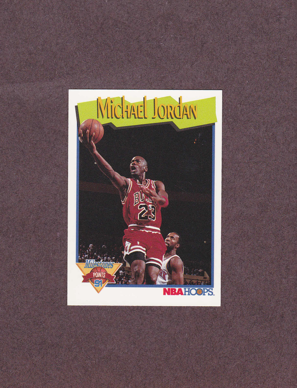 1991-92 Hoops # 317 Michael Jordan Chicago Bulls NM