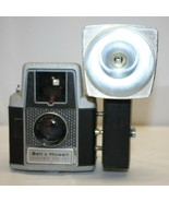 BELL AND HOWELL ELECTRIC EYE CAMERA # 127 + FLASH ATTACHMENT UNTESTED - $19.79