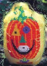 Little Guys: Punkin Head cross stitch chart Amy Bruecken Designs - $5.40