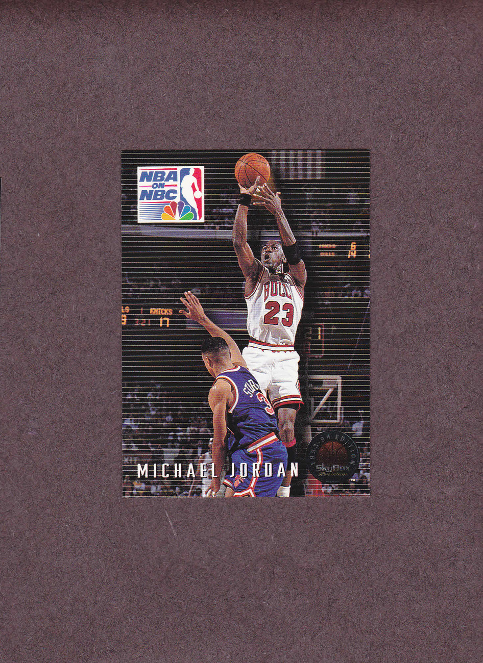 1993-94 Skybox Premium # 14 Michael Jordan Chicago Bulls NM