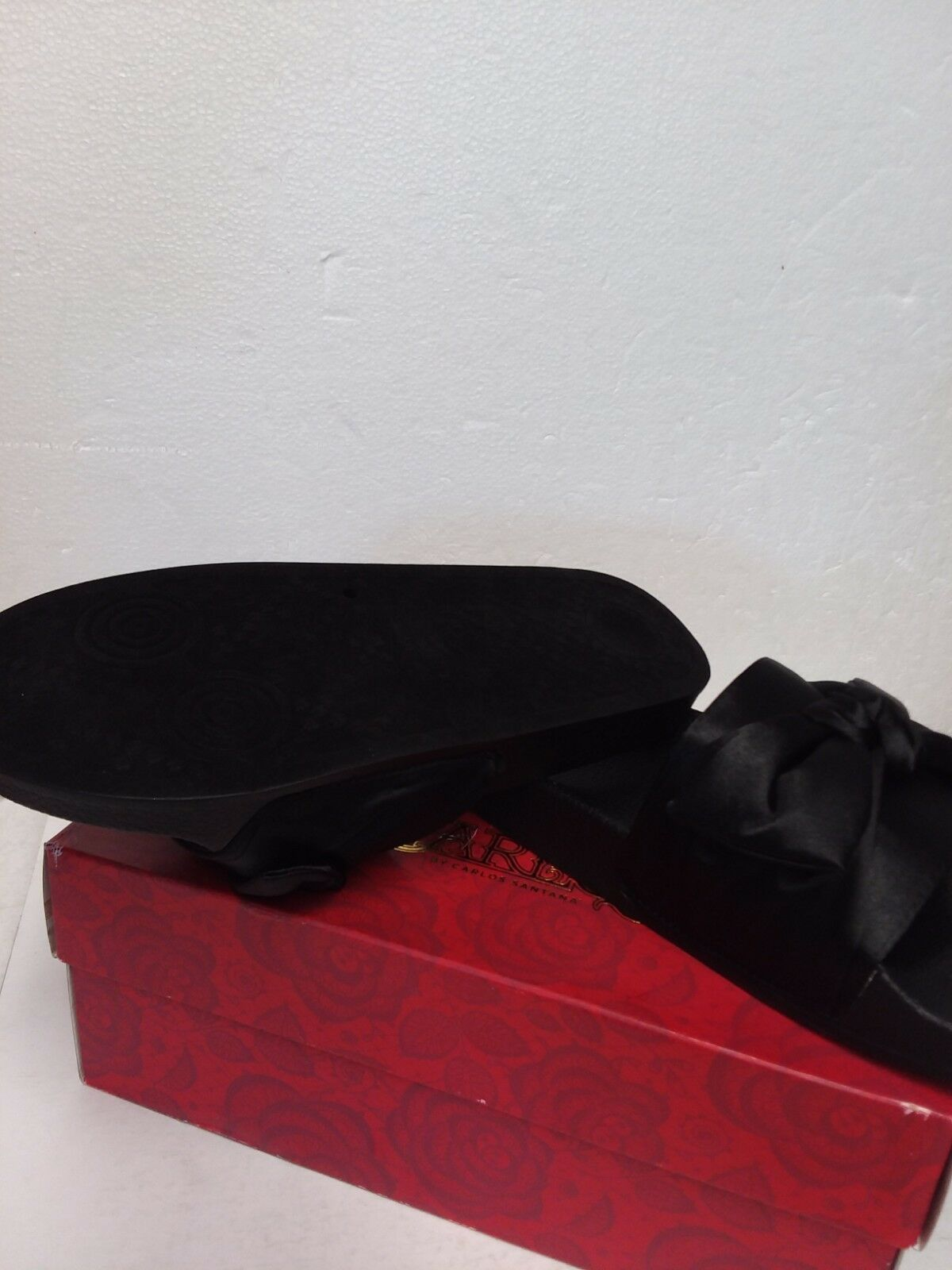 Carlos by Carlos Santana Bayside Slide Sandals, Black, 9 US / 39 EU
