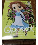 Banpresto Q posket Disney Characters Belle Country Style Rare Color - $24.49
