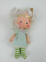 "Vintage 1979 Strawberry Shortcake Angel Cake 5"" Doll In Original Clothes - $16.39"