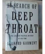 2000 In Search of Deep Throat Leonard Garment Nixon Watergate Woodward B... - $85.00