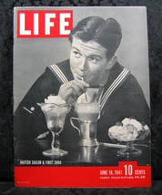 Life Magazine June 16, 1941 British Sailor and First Soda - $9.99