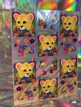 SALE⚡️S280 Lisa Frank Hunter Jungle Lion Geckos Sticker Sheet Full image 2