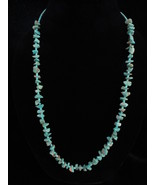 """28"""" Turquoise Nugget and Turquoise Heishi Necklace - $129.99"""