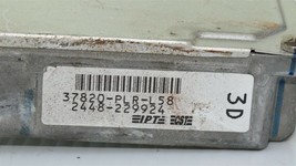 01-03 Honda Civic EX AT ECU Engine Computer Key & Immobilizer 37820-PLR-L58 image 1