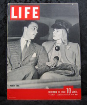Life Magazine December 23, 1940 Volume 9 No. 26 Party time - $9.99
