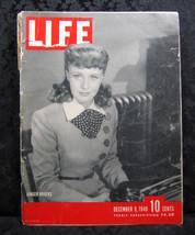 Life Magazine December 9, 1940 Volume 9 No. 24 Ginger Rogers - $9.99
