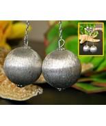 Vintage Napier Brushed Satin Silver Balls Chain... - $17.95