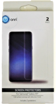 ONN Screen Protectors for Samsung Galaxy S9 - 2 Pack