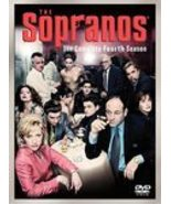 The Sopranos Complete Fourth Season (2001, VHS) James Gandolfini - $15.00