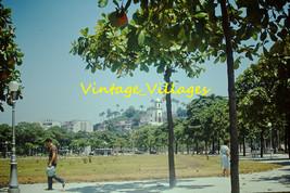 """Vintage """"Airport"""" Rio de Janeiro Brazil Ektachrome Slide #1018 - $6.93"""