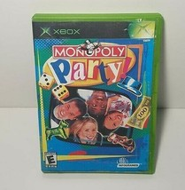Monopoly Party Xbox Original Video Game 2002 - $6.45