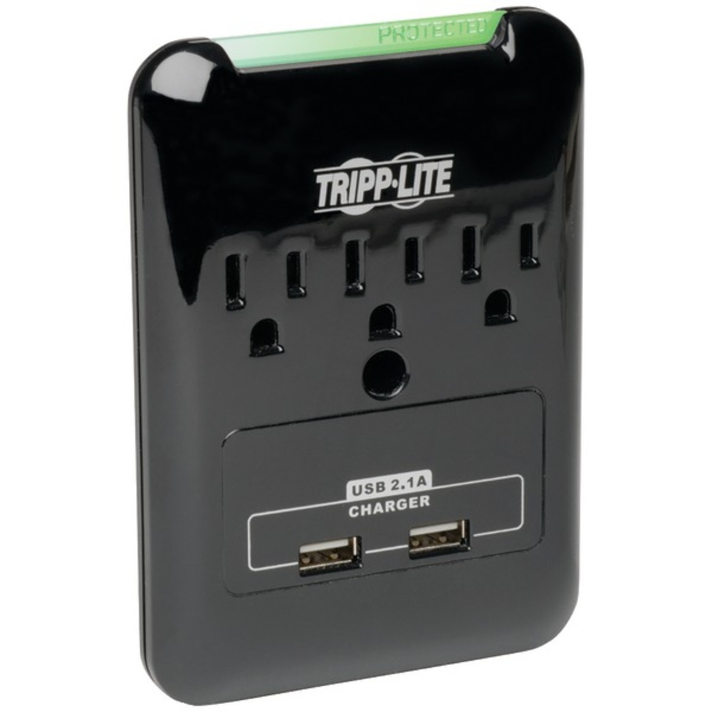 Primary image for Tripp Lite SK30USB Protect It! Flat-Profile 3-Outlet Surge Protector with USB Po