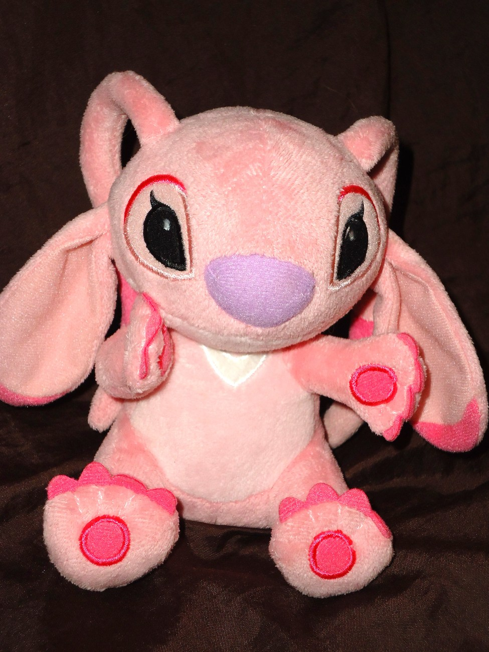 Disney Store Lilo and Stitch Angel Girlfriend Pink Plush Stuffed Animal Doll
